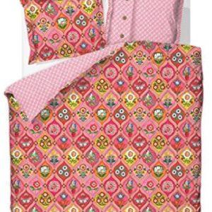 Kuschelige Bettwäsche aus Perkal - rosa 135x200 von PiP Studio