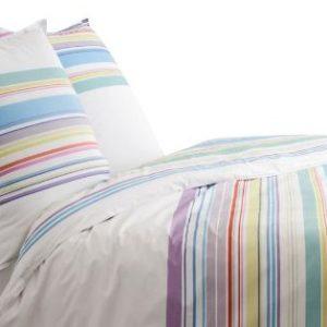 Schöne Bettwäsche aus Perkal - weiß 140x200 von BLANC CERISE