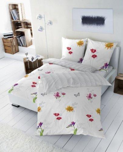 sch ne bettw sche aus renforc grau 155x220 von betz. Black Bedroom Furniture Sets. Home Design Ideas