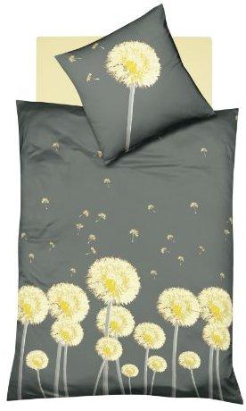 Traumhafte Bettwäsche aus Renforcé - grau 155x220 von Dream Art