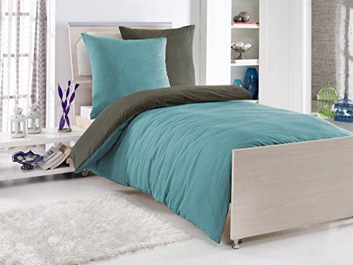 Traumhafte Bettwäsche Aus Renforcé Grau 155x220 Von Wasserbetten