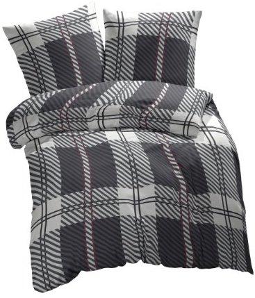 traumhafte bettw sche aus renforc grau 200x200 von. Black Bedroom Furniture Sets. Home Design Ideas
