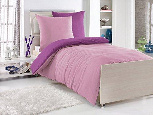 sch ne bettw sche aus renforc rosen rosa 135x200 von. Black Bedroom Furniture Sets. Home Design Ideas
