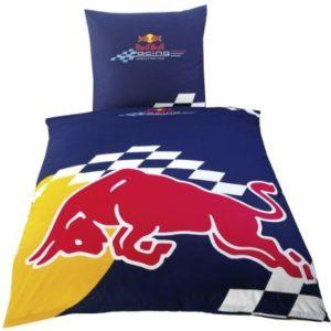 Schöne Bettwäsche aus Renforcé - rot 135x200 von Global Labels