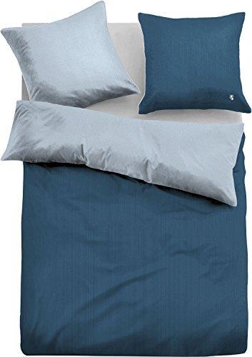 h bsche bettw sche aus satin blau 155x200 von tom tailor bettw sche. Black Bedroom Furniture Sets. Home Design Ideas