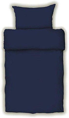 Traumhafte Bettwäsche aus Satin - blau 155x220 von Bettendreams