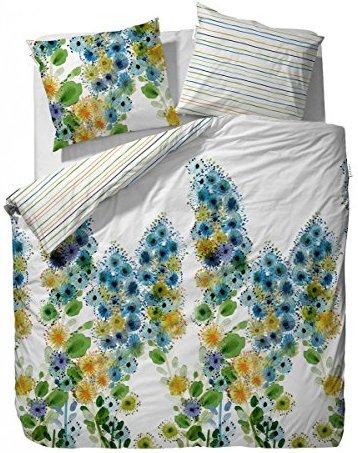 kuschelige bettw sche aus satin blau 155x220 von vanezza bettw sche. Black Bedroom Furniture Sets. Home Design Ideas