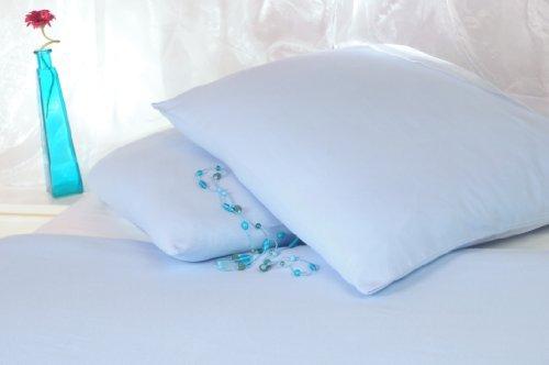 kuschelige bettw sche aus satin blau 200x220 von carpe. Black Bedroom Furniture Sets. Home Design Ideas