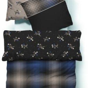 Schöne Bettwäsche aus Satin - braun 135x200 von TOM TAILOR