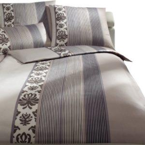 Kuschelige Bettwäsche aus Satin - braun 200x200 von Joop!