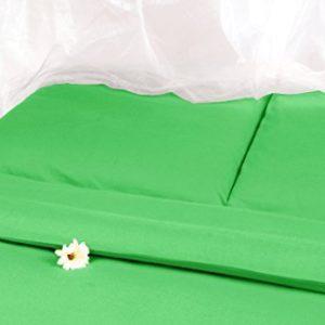 Traumhafte Bettwäsche aus Satin - grün 135x200 von Carpe Sonno