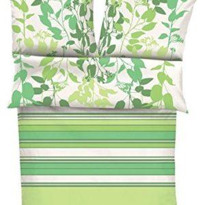 Traumhafte Bettwäsche aus Satin - grün 155x220 von s. Oliver