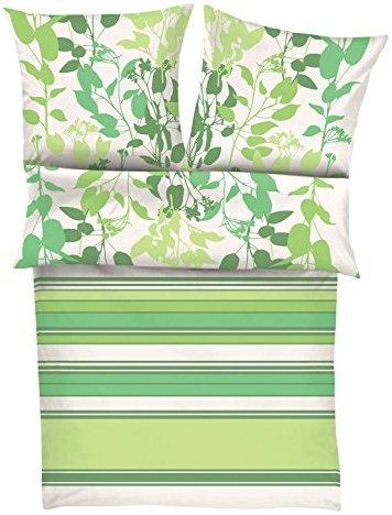 traumhafte bettw sche aus satin gr n 155x220 von s oliver bettw sche. Black Bedroom Furniture Sets. Home Design Ideas