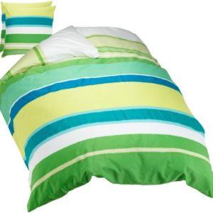 Traumhafte Bettwäsche aus Satin - grün 200x220 von fleuresse