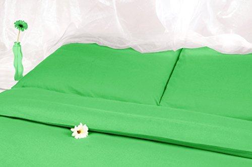 h bsche bettw sche aus satin gr n 220x240 von carpe sonno bettw sche. Black Bedroom Furniture Sets. Home Design Ideas