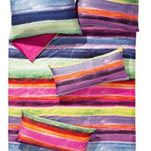 Traumhafte Bettwäsche aus Satin - rosa 135x200 von Erwin Müller