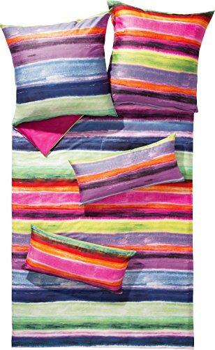 traumhafte bettw sche aus satin rosa 135x200 von erwin m ller bettw sche. Black Bedroom Furniture Sets. Home Design Ideas