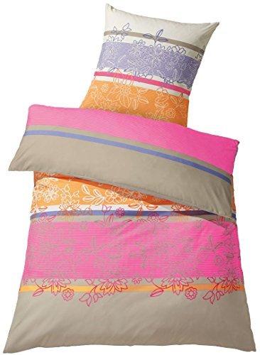 h bsche bettw sche aus satin rosa 155x220 von meradiso. Black Bedroom Furniture Sets. Home Design Ideas