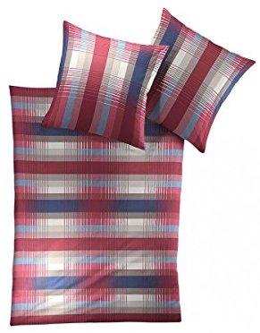 Traumhafte Bettwäsche aus Satin - rot 135x200 von Irisette