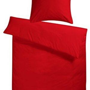 Traumhafte Bettwäsche aus Satin - rot 220x240 von Carpe Sonno
