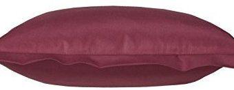 Hübsche Bettwäsche aus Satin - rot 220x240 von Curt Bauer