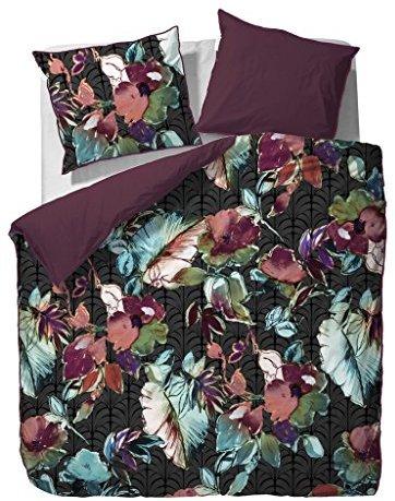 traumhafte bettw sche aus satin schwarz 135x200 von essenza bettw sche. Black Bedroom Furniture Sets. Home Design Ideas