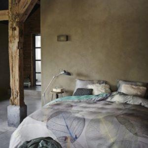 Kuschelige Bettwäsche aus Satin - schwarz 135x200 von Essenza