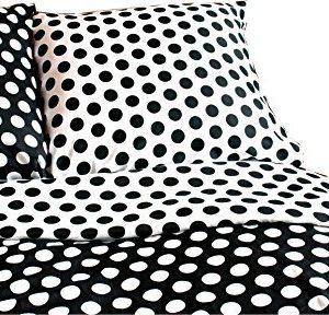 Traumhafte Bettwäsche aus Satin - schwarz weiß 155x220 von Carpe Sonno