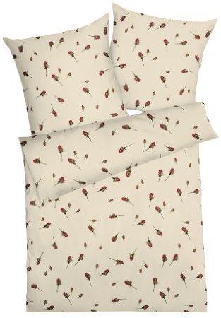 Traumhafte Bettwäsche aus Satin - weiß 135x200 von Kaeppel