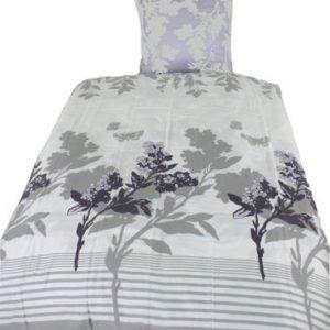 Traumhafte Bettwäsche aus Satin - weiß 135x200 von Kinzler