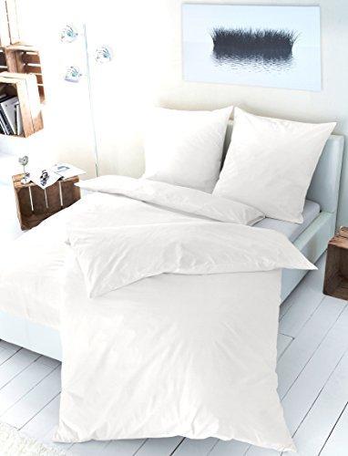 sch ne bettw sche aus satin wei 135x200 von primera. Black Bedroom Furniture Sets. Home Design Ideas