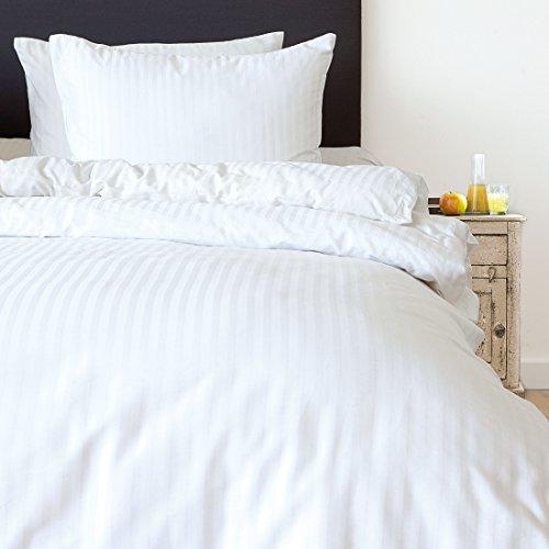sch ne bettw sche aus satin wei 155x220 von hnl group bv bettw sche. Black Bedroom Furniture Sets. Home Design Ideas