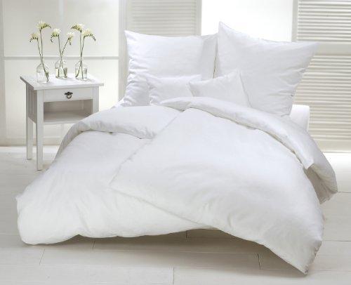 kuschelige bettw sche aus satin wei 200x220 von carpe sonno bettw sche. Black Bedroom Furniture Sets. Home Design Ideas