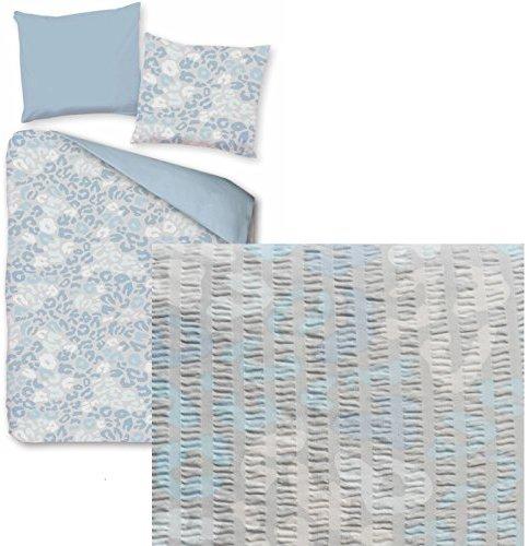 h bsche bettw sche aus seersucker blau 155x220 von kh haushaltshandel bettw sche. Black Bedroom Furniture Sets. Home Design Ideas