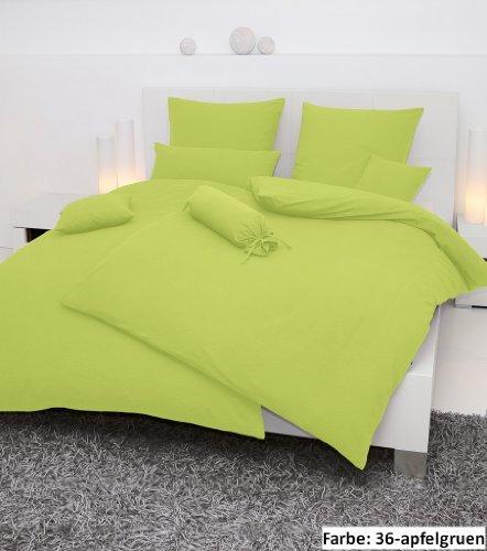 traumhafte bettw sche aus seersucker gr n 135x200 von janine design bettw sche. Black Bedroom Furniture Sets. Home Design Ideas