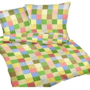 Schöne Bettwäsche aus Seersucker - grün 200x200 von Carpe Sonno