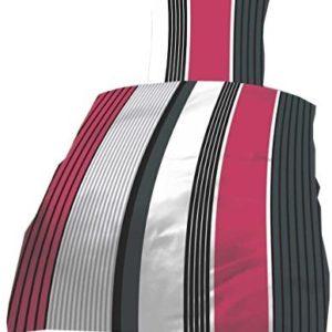Kuschelige Bettwäsche aus Seersucker - schwarz 135x200