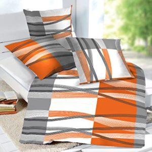 Schöne Bettwäsche aus Seersucker - weiß 135x200 von Etérea