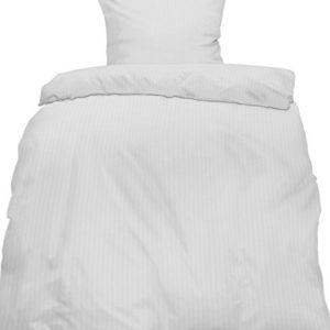 Schöne Bettwäsche aus Seersucker - weiß 155x220 von KH-Haushaltshandel
