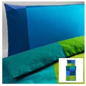 Traumhafte Bettwäsche aus Baumwolle - blau 140x200 von Ikea