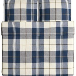 Hübsche Bettwäsche aus Baumwolle - blau 220x240 von Ikea