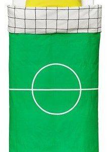 Kuschelige Bettwäsche aus Baumwolle - Fußball 140x200 von Ikea