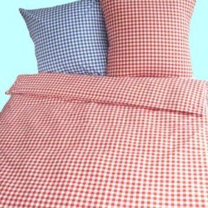 Schöne Bettwäsche aus Baumwolle - rot 135x200 von Bettendreams