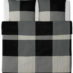 Kuschelige Bettwäsche aus Baumwolle - schwarz von Ikea