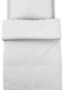 Hübsche Bettwäsche aus Baumwolle - weiß 140x200 von Ikea