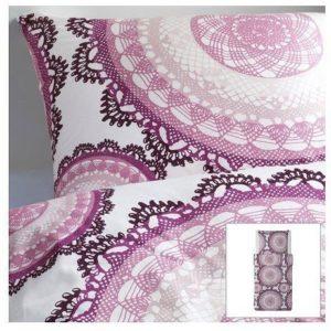 Traumhafte Bettwäsche aus Baumwolle - weiß 155x220 von Ikea