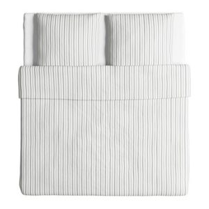 Traumhafte Bettwäsche - grau 220x240 von Ikea