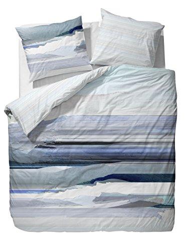 h bsche bettw sche aus satin blau 135x200 von essenza bettw sche. Black Bedroom Furniture Sets. Home Design Ideas