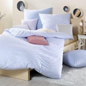 Traumhafte Bettwäsche aus Batist - rosa 135x200 von Lorena Textil