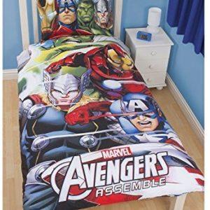 Traumhafte Bettwäsche aus Baumwolle - 135x200 von Marvel